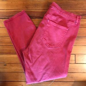 Gap resolution slim straight jeans
